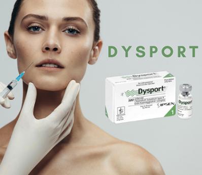 botox dysport boxes